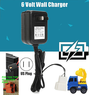 6 Volt Wall Charger AC Adaptor for Avigo Kid Toy Car Auto Model 6 Volt Battery