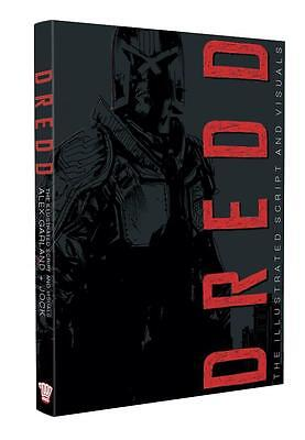 2000AD : Dredd The Illustrated Script And Visuals Ltd signed numbered Jock