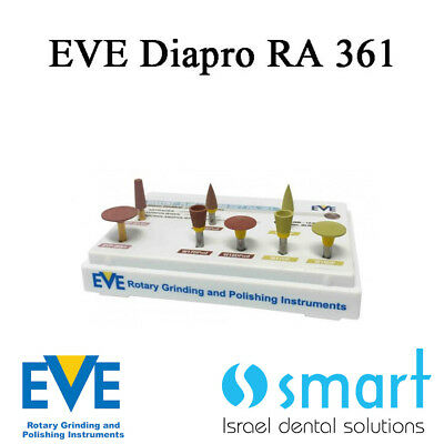 Dental Eve Diasynt Plus Diapro ra361 silicate ceramic polishing diamond zirconia