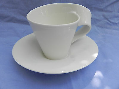 Villeroy & and Boch NEW WAVE SMALL CUP  8cm x 8.5cm & SAUCER 15.5cm, Excellent.