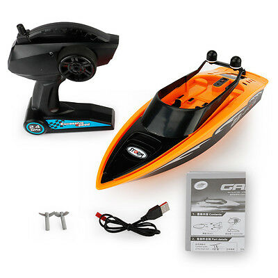2.4GHz 4-channel Water Cooling High Speed Racing RC Boat Speedboat Children Toy