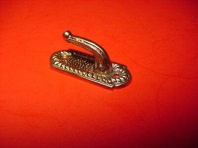 New Ornate Victorian Style Cast Brass Hook