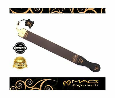 "Professional Quality Sharpening Strop Made of Real Leather 2"" Wide And 22"" long"