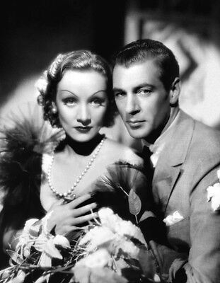 Gary Cooper and Marlene Dietrich UNSIGNED photo - H8283 - Desire