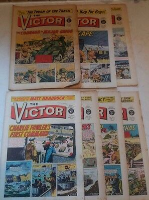The Victor Comic 1968 x 7 copies No.366-373 Collectables