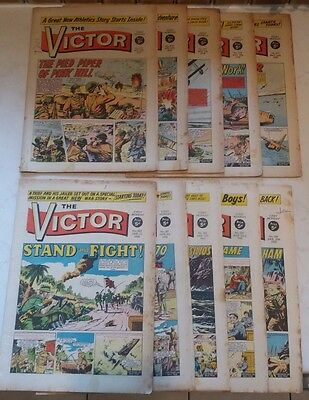 The Victor Comic 1968 x 10 copies No.374-384 Collectables