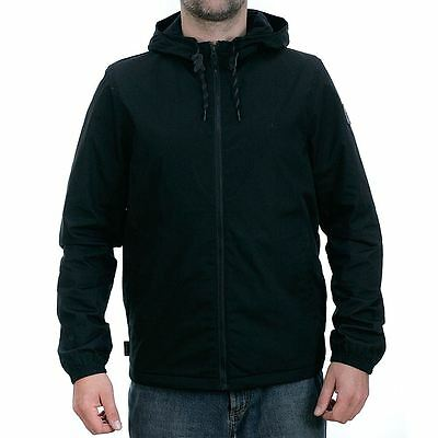 Element Skateboards Alder Jacket Flint Black Coat BNWT New Free Delivery