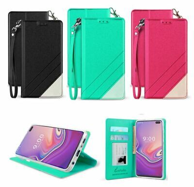 differently d4ad1 dd4aa FOR ZTE BLADE Spark / ZTE ZMax One / Grand X4 Folio Wallet Flip Kickstand  Case