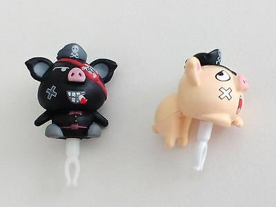 3.5mm cell phone Tablet Anti-Dust Plug Cap Caribbean piggy pirate earphone jack