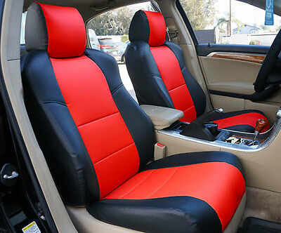 CHEVY MALIBU 2013-2015 IGGEE S.LEATHER CUSTOM FIT SEAT COVER 13 COLORS AVAILABLE