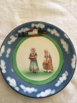 Bavarian Women The Shell Gatherers.   Royal Bayreuth.   Perfect condition