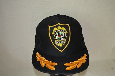 VINTAGE Hawaii Five-0 Five-O 5-0 Hat Police Ball Cap Magnum PI