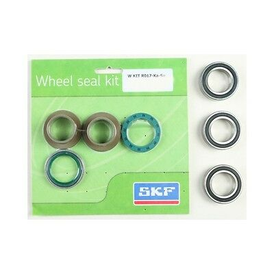 SKF Rear Wheel Bearing Kit for Kawasaki 2004-17 KX 250F 450F WSB-KIT-R017-KA-SU