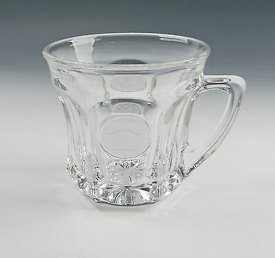 Fostoria Glass COIN-CLEAR Punch Cup(s)Multiple Availble  EX