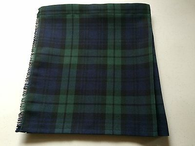 Black Watch G T Tartan Baby Kilt  0-3 m - 2-3 yrs Waist & Length Sizes Given