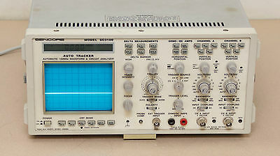 Sencore SC3100 Waveform Analyzer  (Location - R15)
