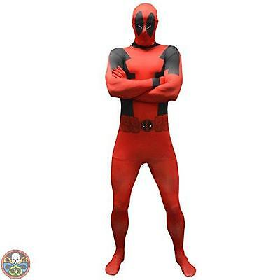 Marvel Comics Tg: Xl - 1.80 M A 1.90 M Morphsuits Marvel Deadpool Value Nuovo