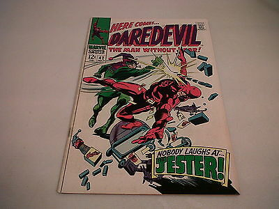 Daredevil #42 Fine 1st appearance of Jester Marvel 1968 Silver Age *NICE GRADE*