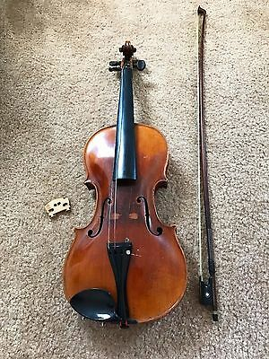 Vintage 1642 Jacobus Stainer Violin Full Size Very Good Condition in Case
