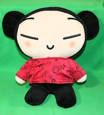 "PUCCA Japanese Anime Plush Doll Toy 11"" USED as is in the pictures"