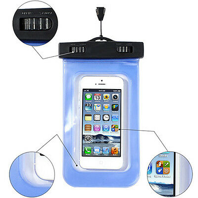 Waterproof Cell Phone Pouch Underwater Dry Bag Case Cover Under 5.5'' With strap