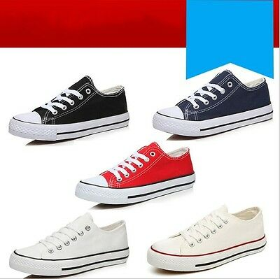 Fashion Women Men Unisex Chuck Low High Top Shoes Casual Canvas Lace Up Sneakers