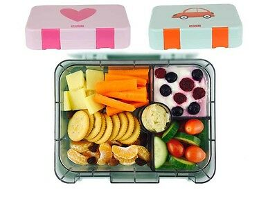 Little Nation Bento Box, Lunch Box. Extra Large. Only Bento Box to Fit Sandwich.