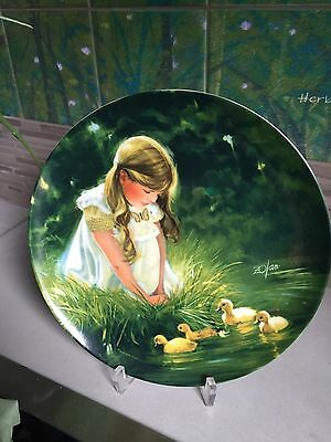 Cute plate for nursery  - gift for baby shower?