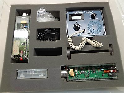 Scientific Laser Photometer/Receiver, 2 Class II Laser, & 7 Altman Adapters