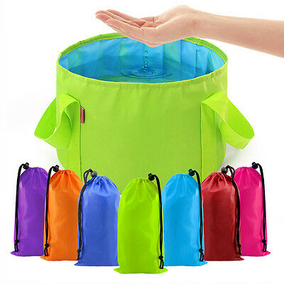 Portable Outdoor Equipment 1 pcs Camping Basin Survival Folding Washbasin