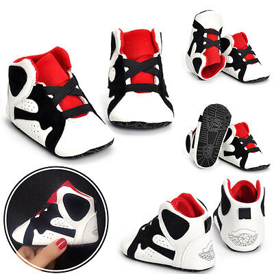 Newborn Baby Soft Sole Crib Shoes Infant Boy Girl Toddler Sneaker Non-Slip 0-18M