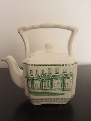 Rare Vintage Collectible James Sadler Teapot Made For Jacksons Of Piccadilly