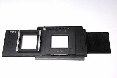 Moveable Adapter For Contax 645 Back To Linhof Sinar Toyo Wista Horseman 4x5