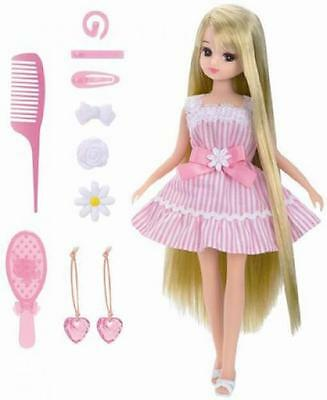 NEW Takara Tomy Licca Doll LD-12 Long Hair Licca Chan Japan with Tracking F/S