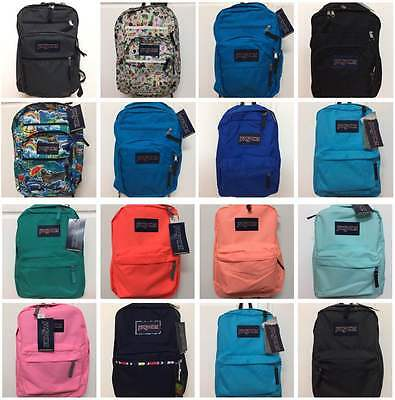 NEW Authentic JanSport Backpack Select Big Student Superbreak High Stakes NWT