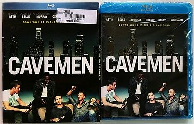 New Sealed Cavemen Blu Ray + Slipcover Sleeve Free World Wide Shipping Buy Itnow