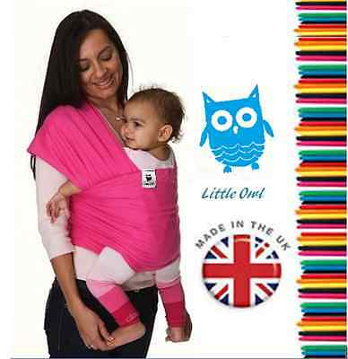 BABY SLING STRETCHY WRAP CARRIER, Super light and silky soft - MANY COLOURS!!!