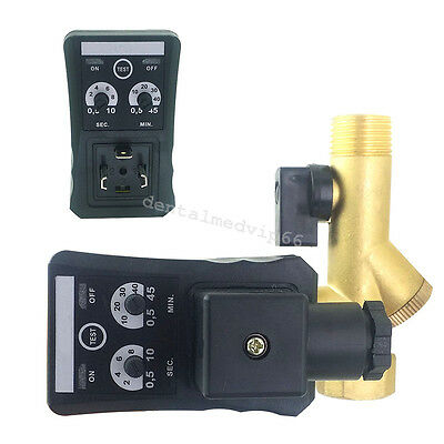 """1/2"""" Multifunction Automatic Electronic Timed Air Compressed System Drain Valve"""