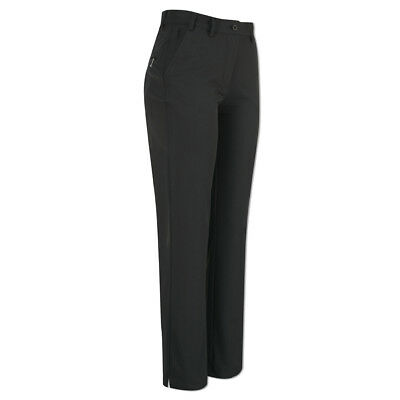 Glenmuir Soft-Stretch Trousers with Flattering Fit in Black