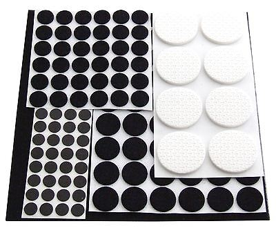 Am-Tech 125pc Floor Protector Furniture Self Adhesive Anti Skid Felt Pads -S5325