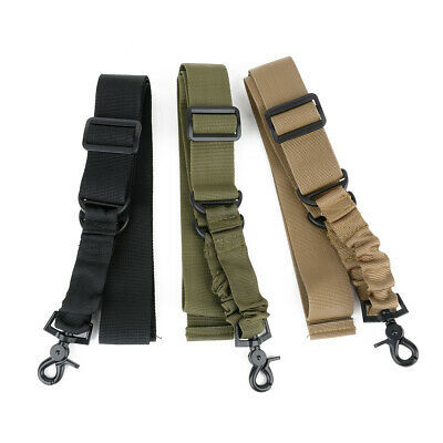 Tactical 1 Single Point Adjustable Bungee Hook For Rifle Gun Sling Strap System