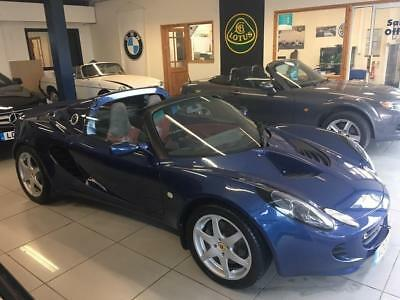 2002 Lotus Elise 1.8 Convertible 2dr Petrol Manual (168 g/km, 118 bhp)