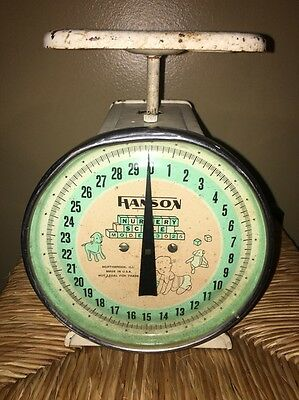Vintage Baby Scale 1950s