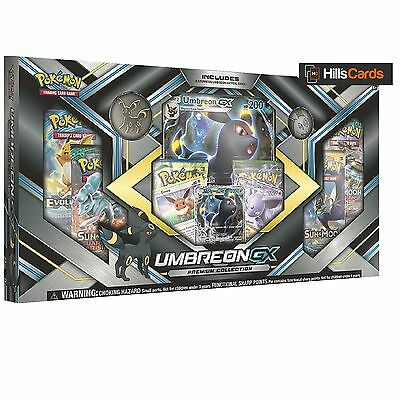 Pokemon TCG Umbreon GX Premium Collection Box: Inc Booster Packs + Promo Cards