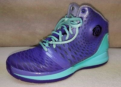 54ffc930c60 ADIDAS D ROSE 3.5 Englewood Purple Sneakers Shoes Size Men s 4.5 ...
