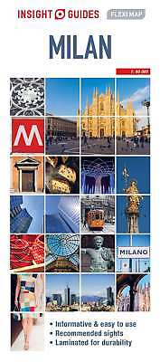 Insight Flexi Map Milan (Insight Flexi Maps), Guides, Insight, New Book
