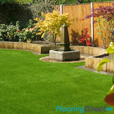 Cotswold 30mm Artificial Grass 5m x 4m Garden Plastic Green Lawn Astro Turf