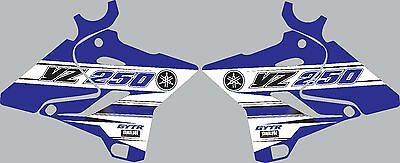 Graphics for 2015-2016 Yamaha YZ250 YZ 250 shrouds Decal Stickers