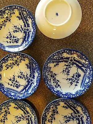 """Set Of 6 """"made In Occupied Japan"""" Plates"""