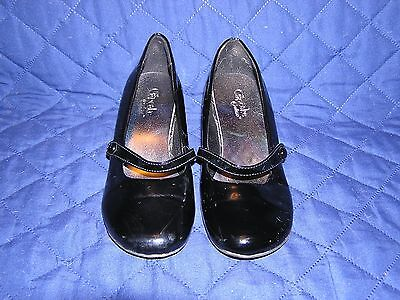 Cupcake Couture Black Patent Dress Shoes - Girls Size 3 Heels